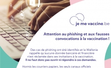 Attention au phishing et aux fausses convocations à la vaccination